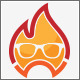 Cool Fire Logo Design - GraphicRiver Item for Sale