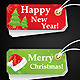 Vector Christmas Label - GraphicRiver Item for Sale