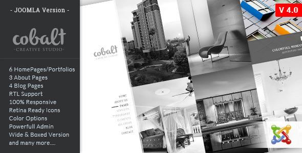 Cobalt – Responsive Multipurpose Joomla Theme