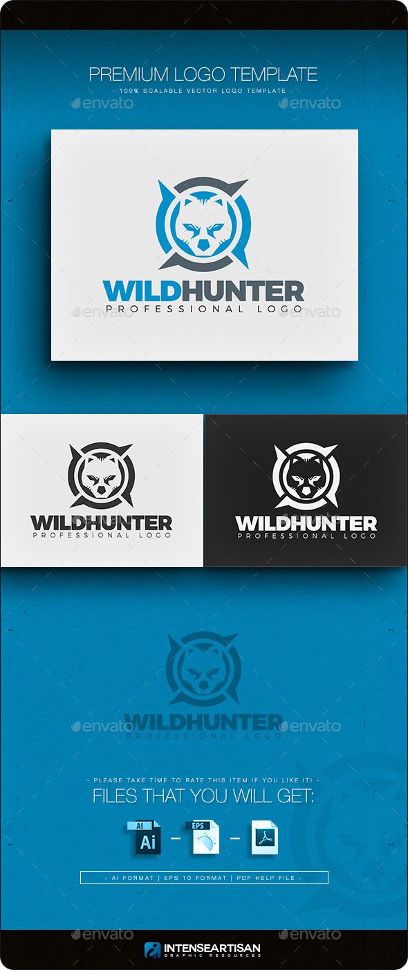 Wild Hunter Logo Template