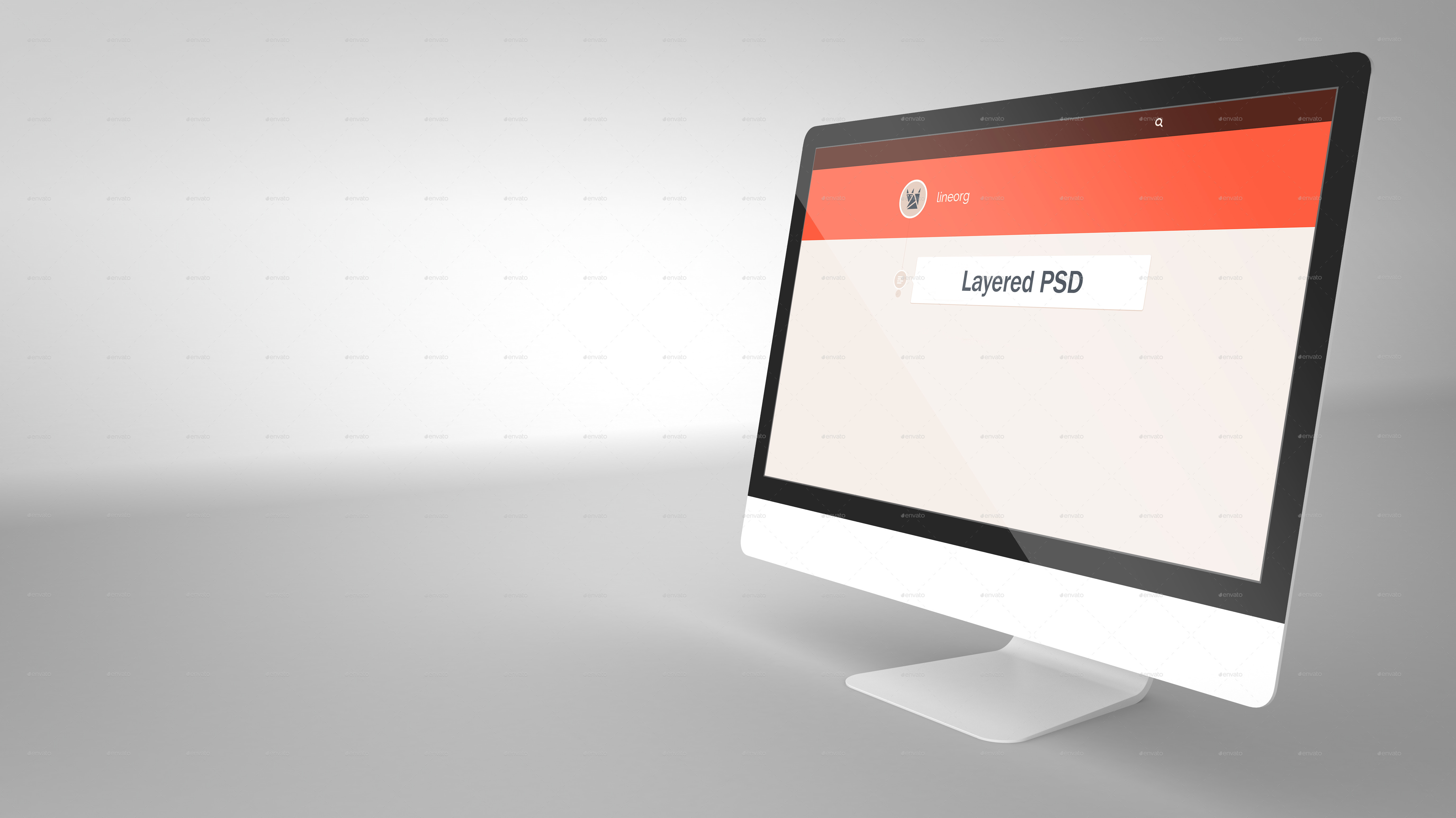 High Resolution 3 Mac Mockup by LineOrg | GraphicRiver