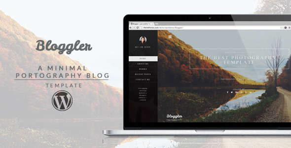 Bloggler – Creative WordPress Blog