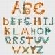 Mechanic Alphabet Colored