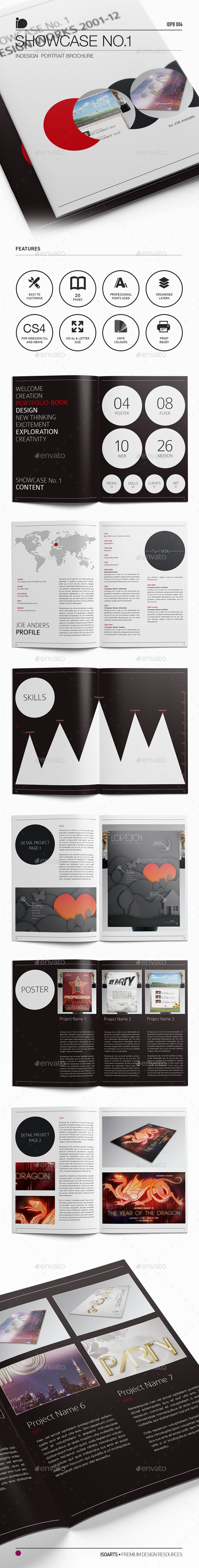 Portrait Brochure • Portfolio Showcase No.1 - Corporate Brochures