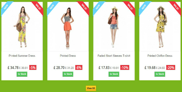 Sale Products - Prestashop Module - CodeCanyon Item for Sale