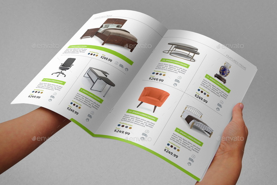 Products Catalogs Brochure - 20 Pages by OWPictures | GraphicRiver