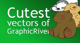 Cutest vectors of GraphicRiver