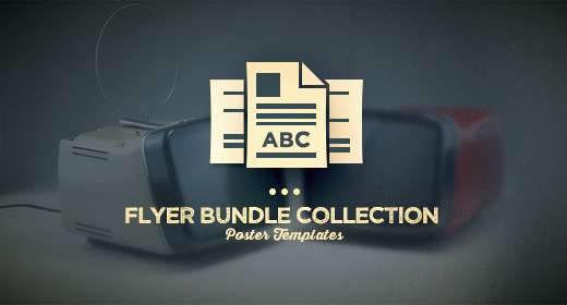 Flyer Bundle Vintage Collection