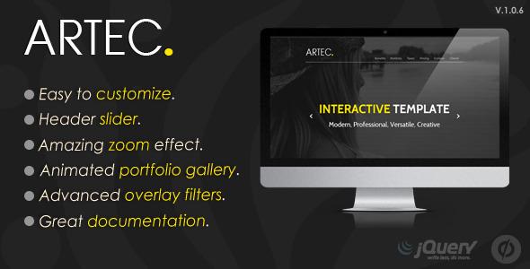 ARTEC – Multipurpose Unbounce Template