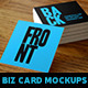Square Business Card Mockups Vol. 1 - GraphicRiver Item for Sale