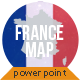 France Map - Editable Map Presentation - GraphicRiver Item for Sale