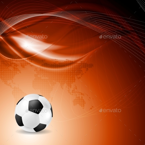 Soccer Background - Backgrounds Decorative