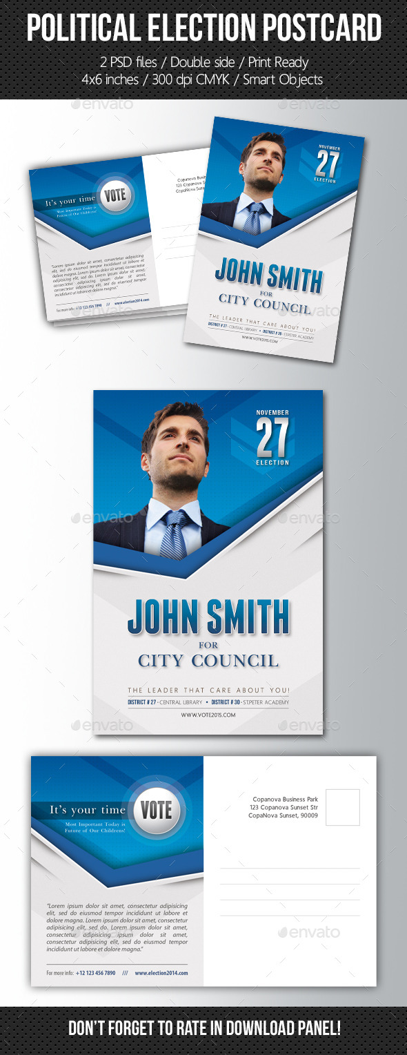 election poster template graphics designs & templates