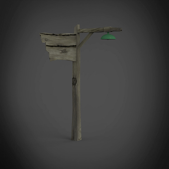Instruction pole - 3DOcean Item for Sale
