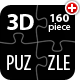3D Customizable Puzzle Set (16x10) - 3DOcean Item for Sale