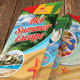 Hot Summer Vacation Bifold Brochure 01 - GraphicRiver Item for Sale