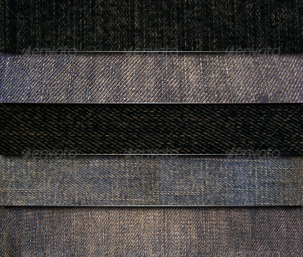 5 Jeans Fabric textures - Fabric Textures