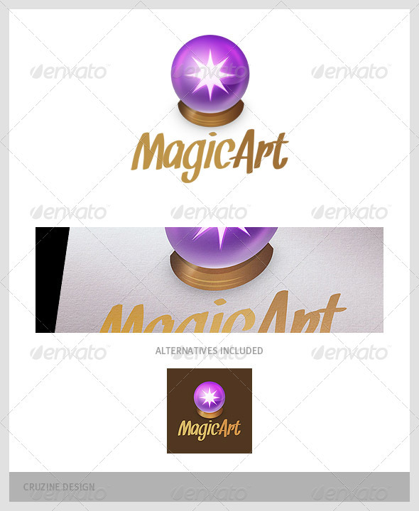 Magic Ball Logo - Objects Logo Templates
