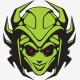 Green Queen Logo Template