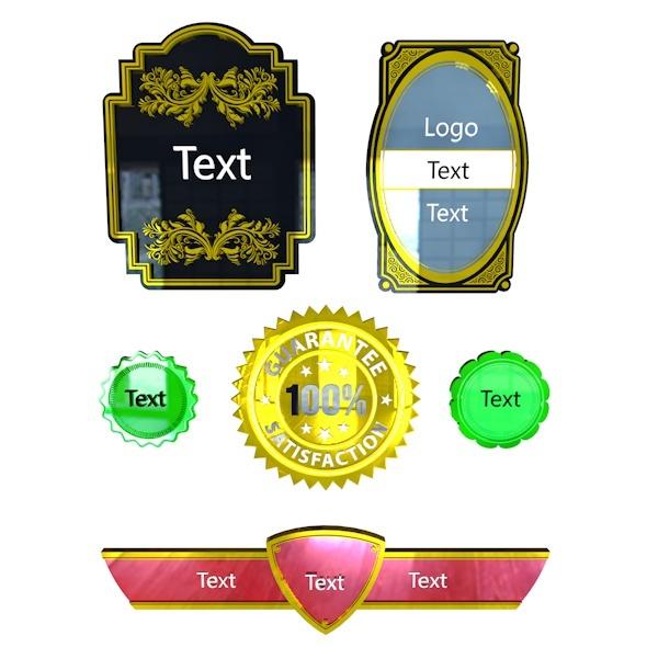 Badge Pack - 3DOcean Item for Sale