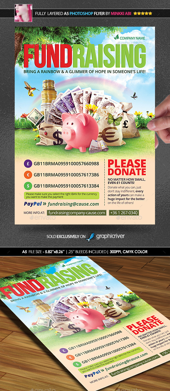 fundraiser flyer examples