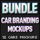Cars Branding Mockups Bundle
