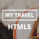 My Travel HTML5 Landing Page  - ThemeForest Item for Sale