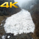 Aerial View Flying Over Avalanche in the Forest - VideoHive Item for Sale