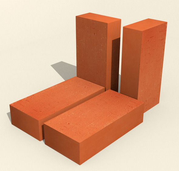 Red brick - 3DOcean Item for Sale