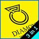 Diamond - Logo Template - GraphicRiver Item for Sale