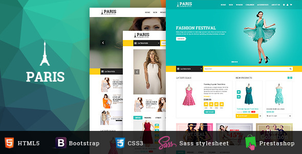 SNS Paris - Responsive Prestashop Theme - Fashion PrestaShop