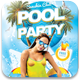 Pool and Beach Party Flyer Template - GraphicRiver Item for Sale