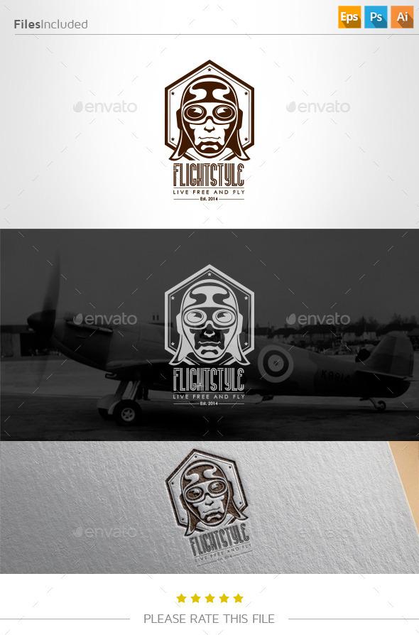 Aviator  Logo - Humans Logo Templates
