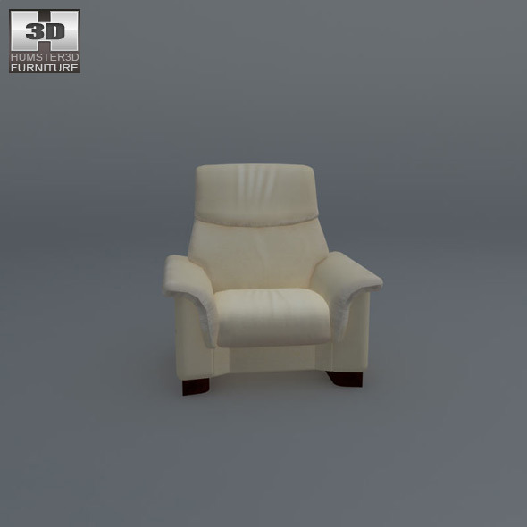 paradise chair ekornes stressless 3d model by humster3d 3docean. Black Bedroom Furniture Sets. Home Design Ideas