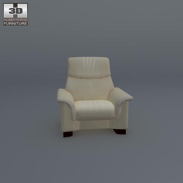 paradise chair ekornes stressless 3d model by humster3d 3docean. Black Bedroom Furniture Sets. Home Design Ideas