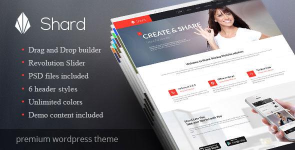 Shard - Multipurpose Business Parallax WP Theme