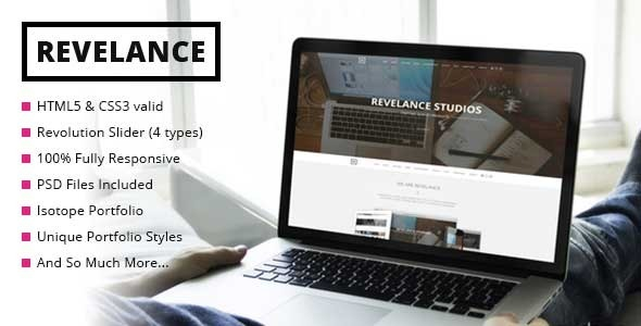 Revelance – Multi/One-Page Parallax HTML Template
