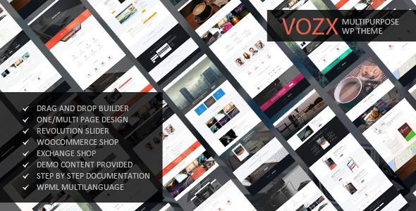 Vozx – Multipurpose WordPress Theme