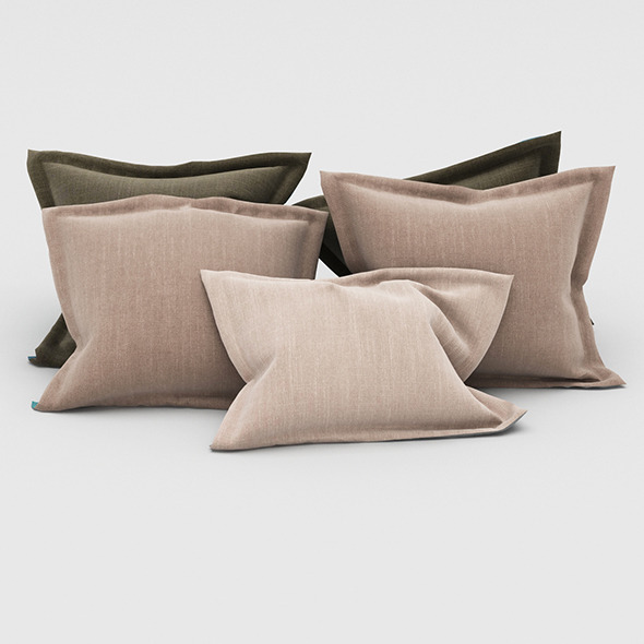 Pillows 67 - 3DOcean Item for Sale