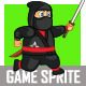 Fat Ninja Sprite - GraphicRiver Item for Sale
