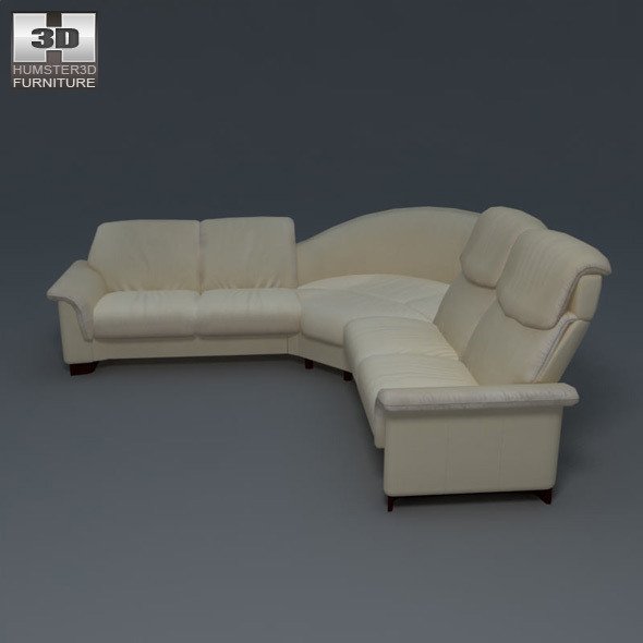 paradise corner sofa ekornes stressless by humster3d 3docean. Black Bedroom Furniture Sets. Home Design Ideas