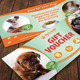 Pets Shop Center Gift Voucher 29 - GraphicRiver Item for Sale