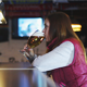 Girl Drinking Beer in a Pub - VideoHive Item for Sale