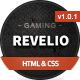 Revelio - The Gaming Template HTML Nulled