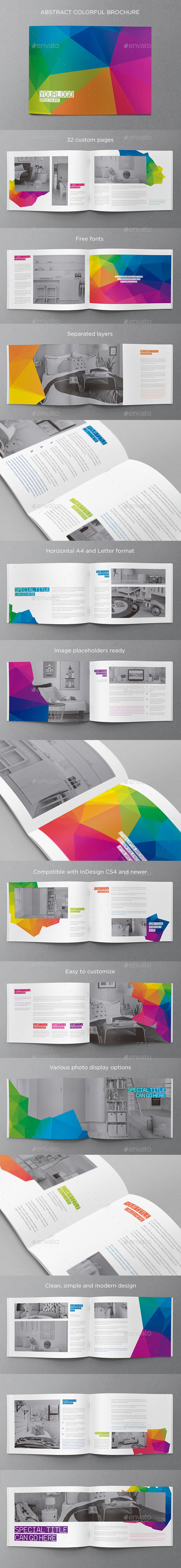 Abstract Modern Brochure - Brochures Print Templates