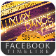 Luxury & Dance Party Facebook Timeline Cover - GraphicRiver Item for Sale