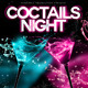 Coctails Night Flyer - GraphicRiver Item for Sale