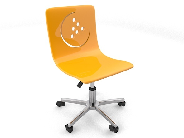 modern child room chair - 3DOcean Item for Sale