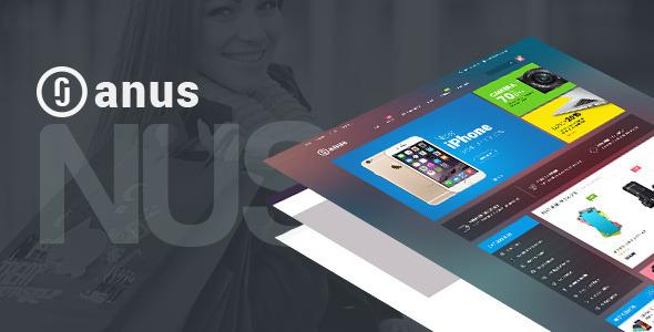 Ves Janus Multipurpose Responsive Magento Theme - Shopping Magento