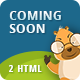 Coming Soon | HTML Animated Template
